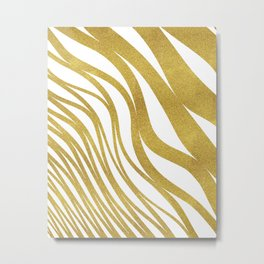 Golden Wave #society6 #decor #buyart Metal Print