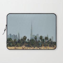 Dubai Skyline Artwork Laptop Sleeve