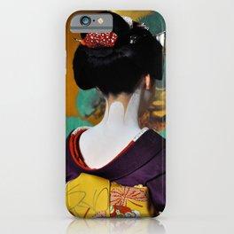 Geisha Maiko II iPhone Case