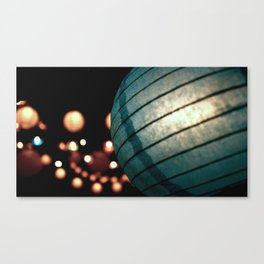 paper lanterns Canvas Print