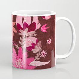 Cranberry Harvest Blooms Coffee Mug