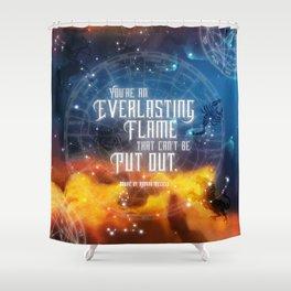 Zodiac - Everlasting Flame Shower Curtain