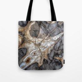 Petrified wood 3264 Tote Bag