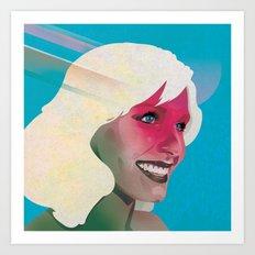 Classy- Kristen Bell Art Print