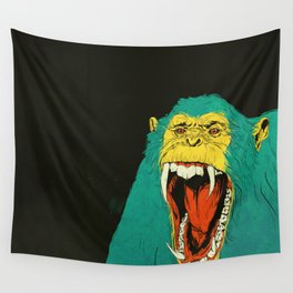Chimpanzee Wall Tapestry