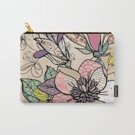 Paper Flowers #5 Carry-All Pouch