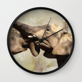 Lifelong Friendships Wall Clock