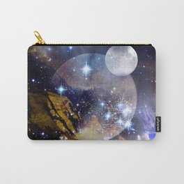 Stars and Orbs Carry-All Pouch