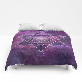 Metatron's Merkaba  Comforters