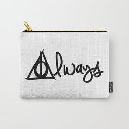 Always, Deathly Hallows, Harry Potter Carry-All Pouch