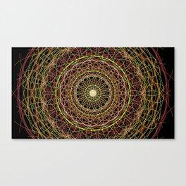 MandalaCR36 Canvas Print