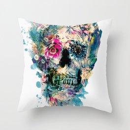 Skull ST III Throw Pillow
