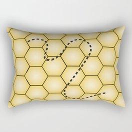 Beehive Rectangular Pillow