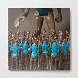 Cantina Deities – Hammerhead Metal Print