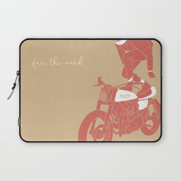 face the wind Laptop Sleeve