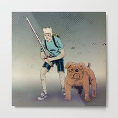 Time for Adventuring Metal Print