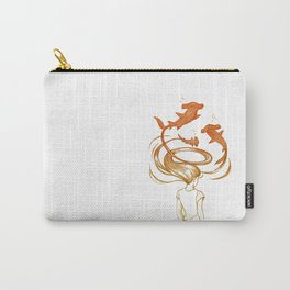 Inner Thoughts VII Carry-All Pouch