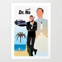 Ian Fleming's Dr. No Art Print