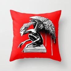 Ink Goblin  Throw Pillow