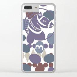 Ludo game Clear iPhone Case