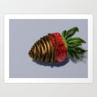 dessert Art Prints featuring Dessert by Malice Aforethought