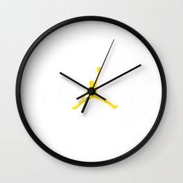 Ingram Jumpman Wall Clock