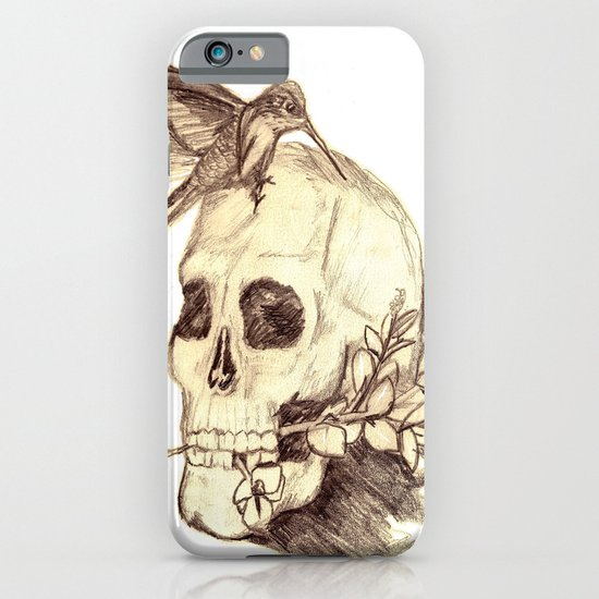 flying away with the time iPhone & iPod Case