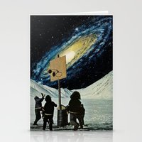 space jam Stationery Cards featuring Space Jam  by Daniel Madeline