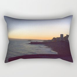 Seafront sunset Rectangular Pillow