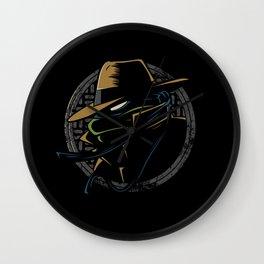 Undercover Ninja Leo Wall Clock
