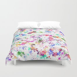 Expression of color Duvet Cover