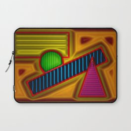 MY place at beachside ... Laptop Sleeve