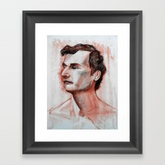 Gaze Framed Art Print