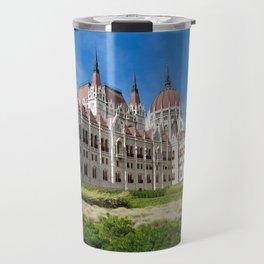 Parliament of Budapest Travel Mug