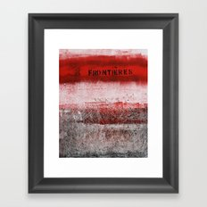 limites Framed Art Print