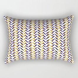 TEJIDO BROWN Rectangular Pillow