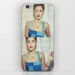 Miley Cyrus x Cigarette  iPhone Skin