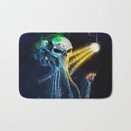 The Squid. ( Neon corp. Underwater series). Bath Mat