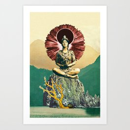 Third Jhana Art Print