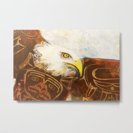 The eagle's spirit Metal Print