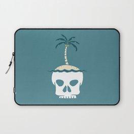 Skull Island – Blue Laptop Sleeve
