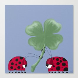 You Are My Good Luck Charm Canvas Print