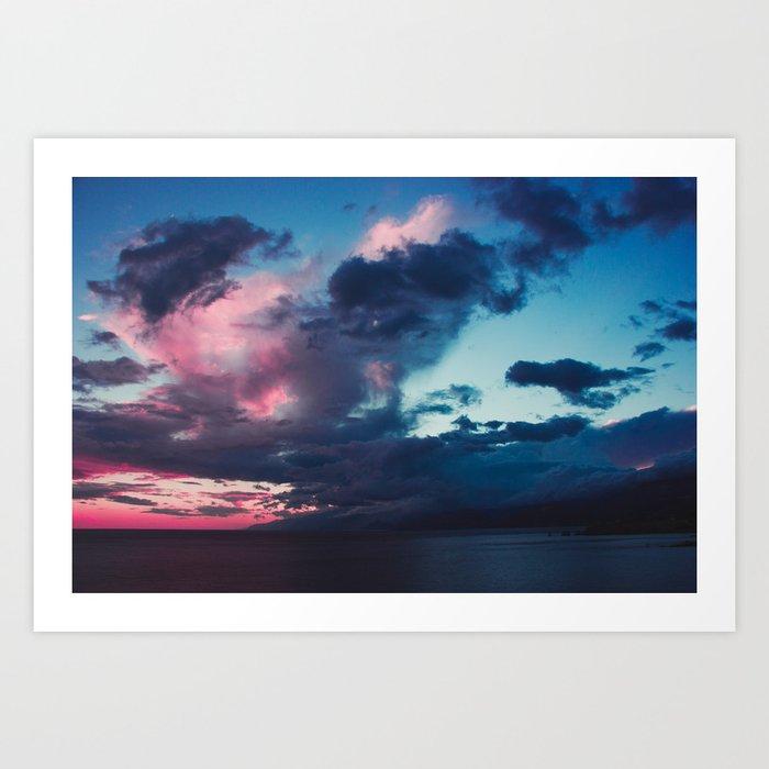 The Sky Is an Artist Art Print