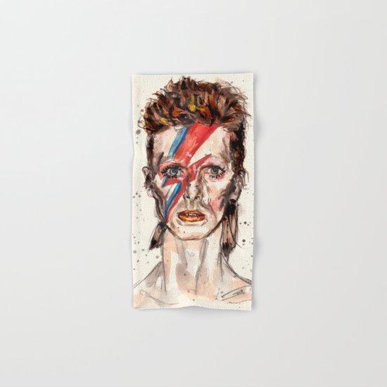 Bowie Inspired David Hand & Bath Towel