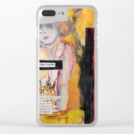 Marlene Dumas Clear iPhone Case