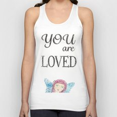 You are Loved Unisex Tank Top