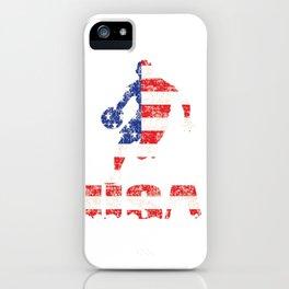 USA Basketball logo iPhone Case