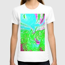 Abstract intense, chemistry T-shirt
