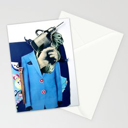 Lobotomy | Collage Stationery Cards