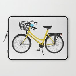 I want to ride my bicycle Laptop Sleeve